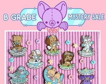 Self Care Plushie Pals - B Grade Mystery Sale