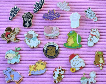 Make Your Own Kawaii Enamel Pin Pack