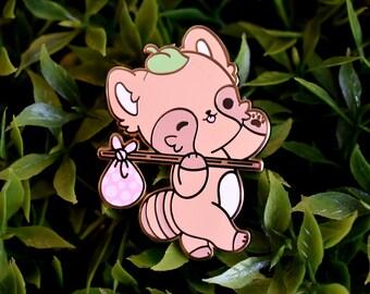 Maple the Tanuki - Adventure - Enamel Pin