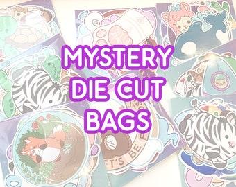 Mystery Die Cut Grab Bags - Sticker Lucky Bags