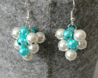 Grape Cluster Earrings
