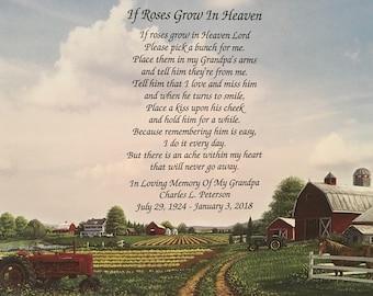 Farmer Memorial Gift Etsy