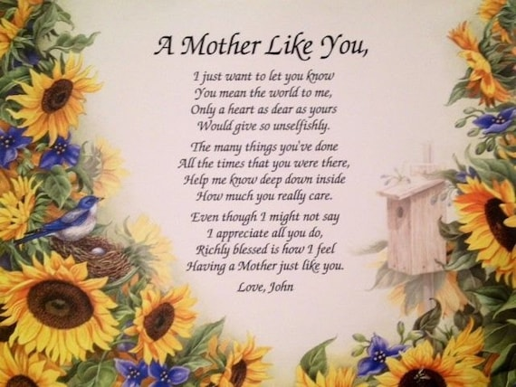 Birthday Gifts For Mom Mothers Day Gift Mother Daughter