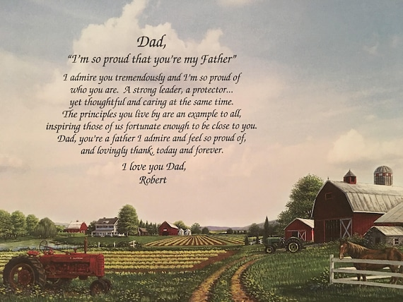 Gifts For Dad Gift Father Farmer Farm Barn