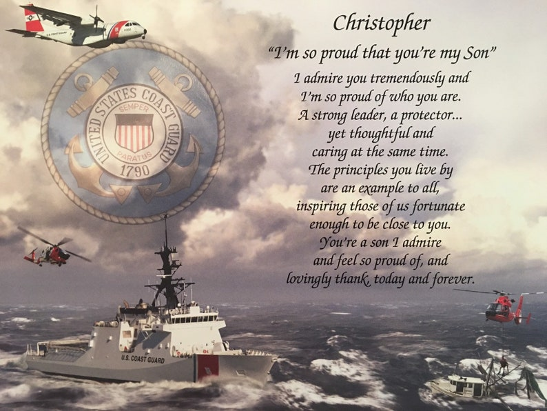 Coast Guard Gift Gifts For Son