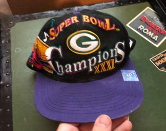 a708c91701e5b1 Vintage Green Bay Packers NFL Super Bowl Champions XXXI - RARE Nice snapback