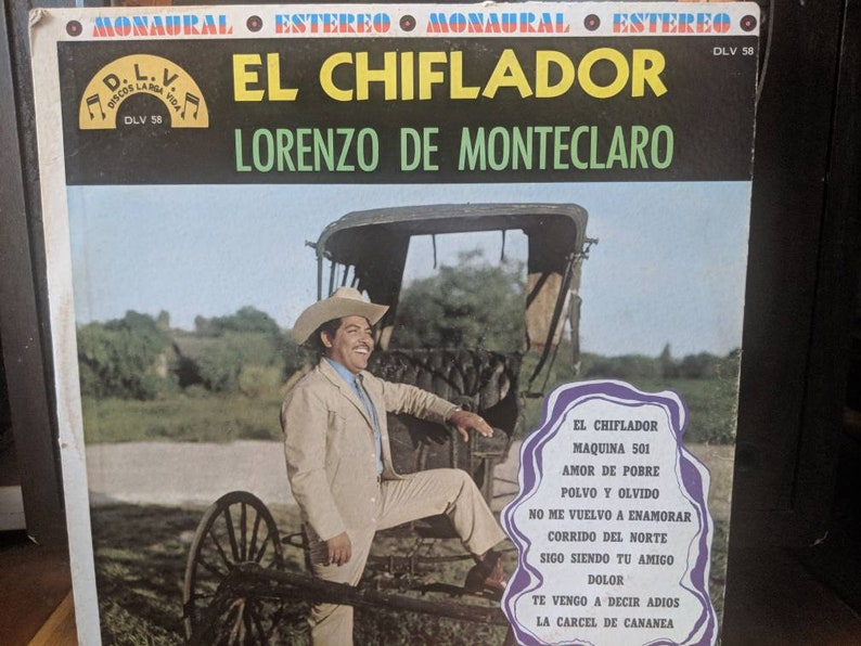Lorenzo De Monteclaro - El Silbidito - Vinyl
