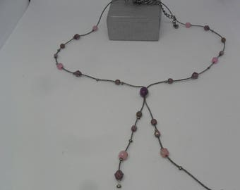 SALE ON  Elegnant  Handmade Beaded Necklace for special present for a special person