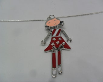 1 Beautiful girl pendant necklace for special gift