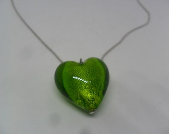 SALE ON 1 Gorgeous Heart Beaded Necklace for special person