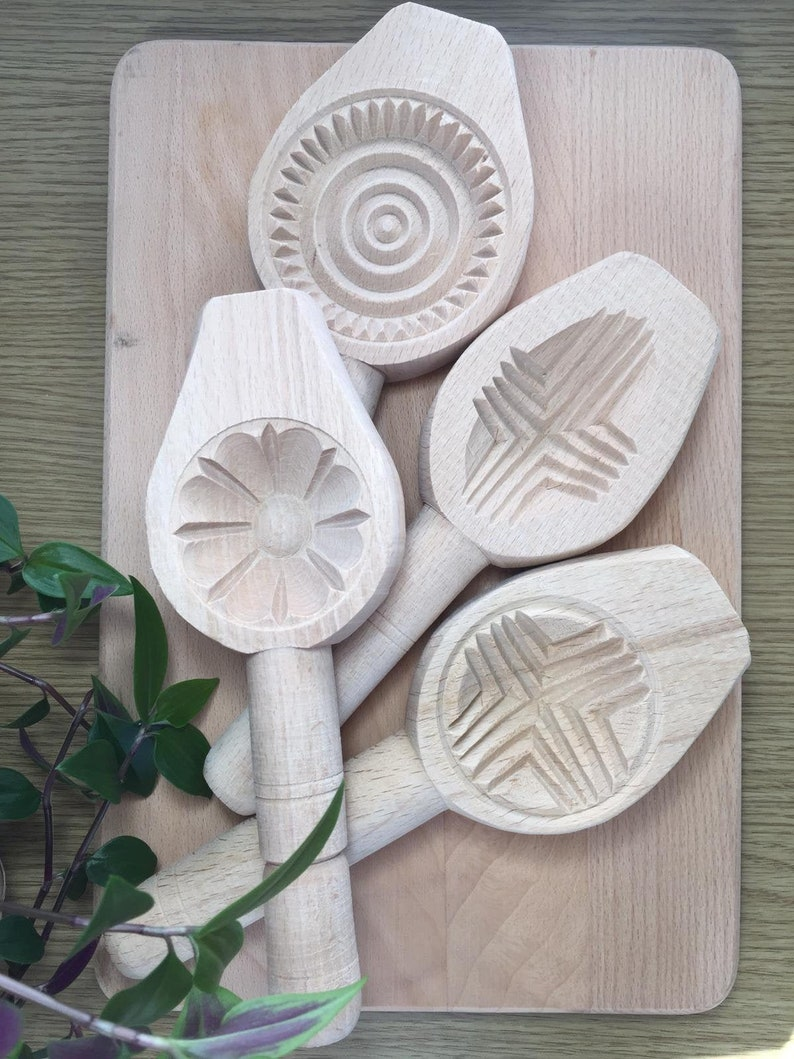 Wooden maamoul-mamoulcookie mould image 0
