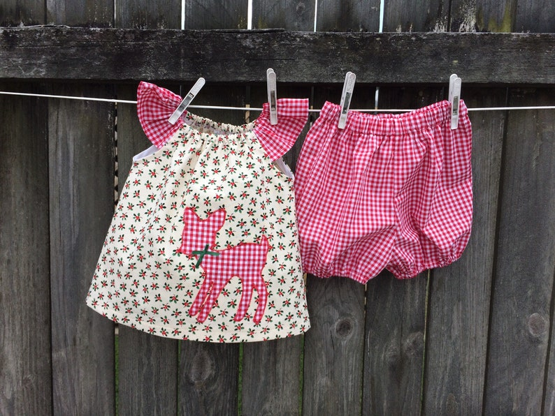 6510cc74eed Baby girls swing top and bloomers set