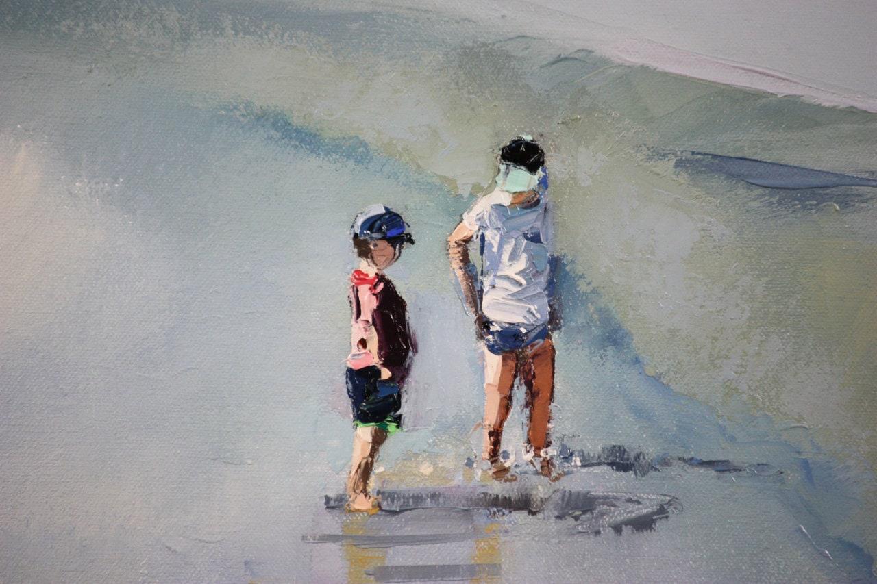3c2bfcb6e Commission Art | Painting From Photo | Coastal Wall Art | Coastal Wall Decor  | Canvas Art | Beach Decor | Canvas Painting | Oil Painting