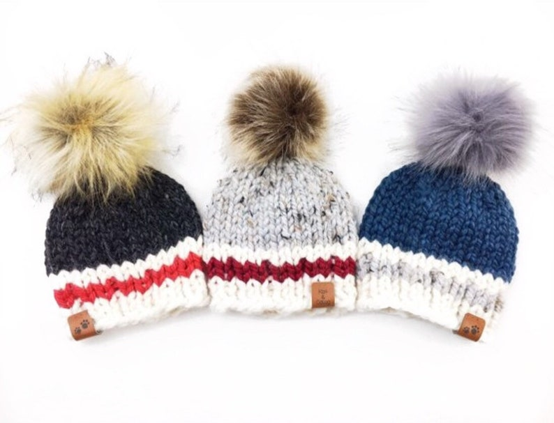 21d0db8e23387 Lumberjack Hat Knitting/Winter pom pom hat/ Knitted hat for kids/ Sock  Monkey hat/ toddler hat,/Thanksgiving/ baby shower gift/ photo prop.
