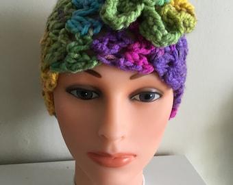 Gold/Pink/Purple/Blue/Green Headband