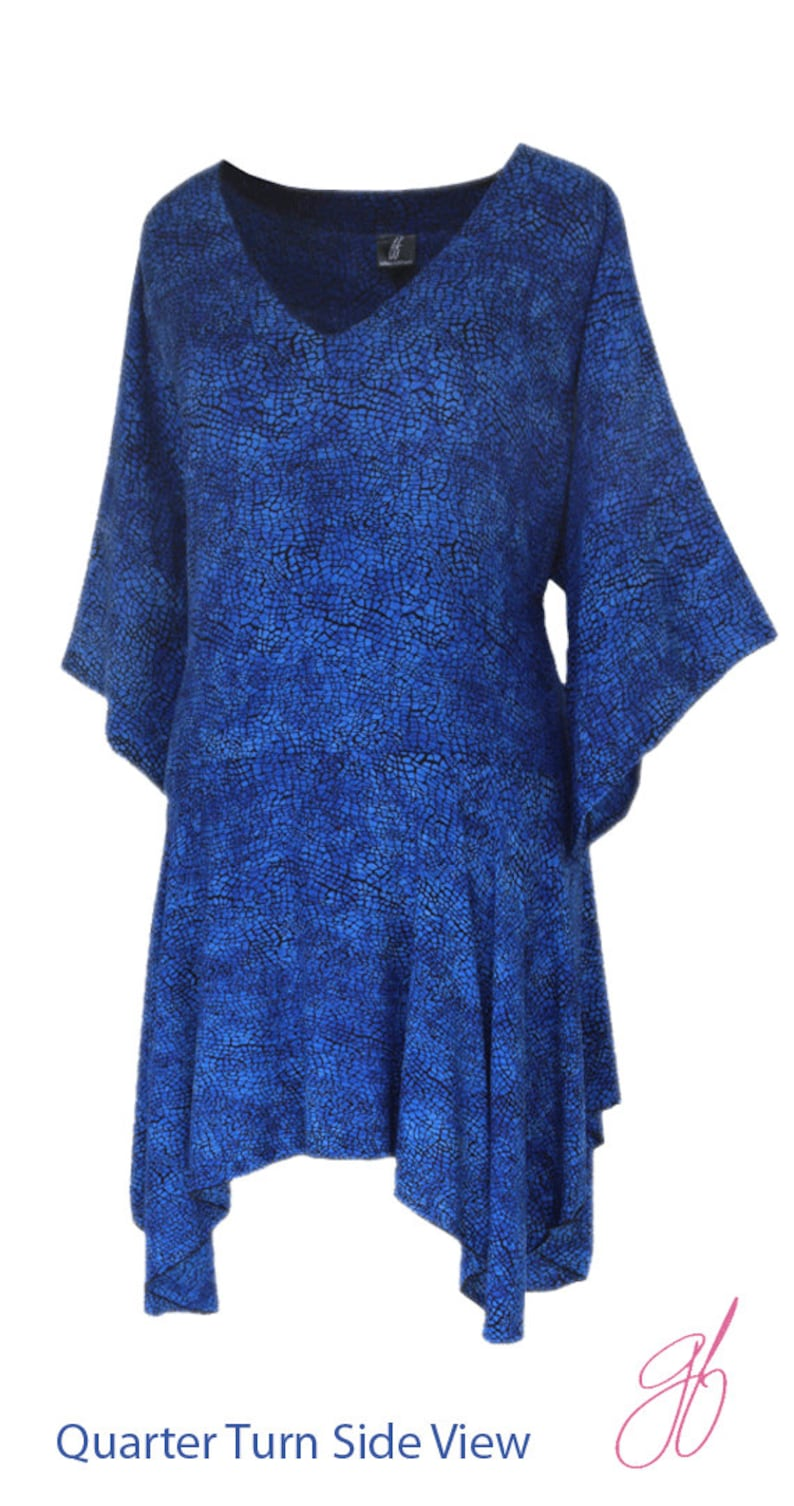 066ea75010de1 Lagenlook Plus Size | Plus Size Tunic Top Long Sleeve | Women's Boho Plus  Size Clothing, One Plus Size, Bust to 54