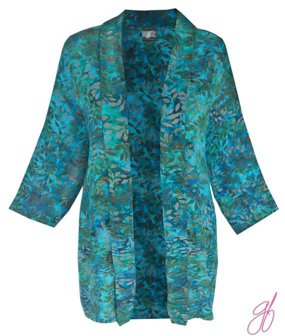 Womens Plus Size Clothing Kimono Cardigan Batik Plus Etsy