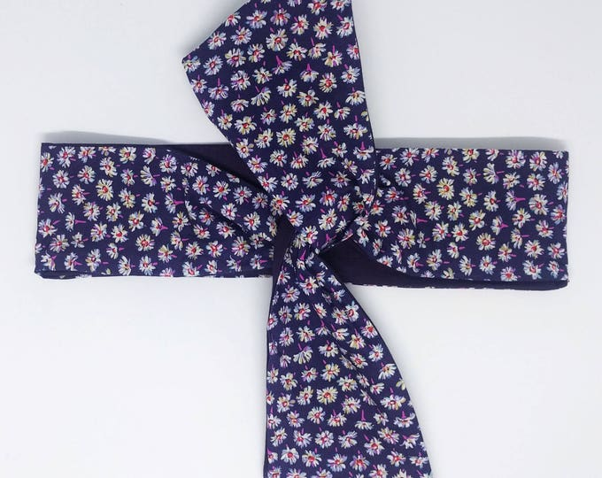 Headband EDDY daisy purple