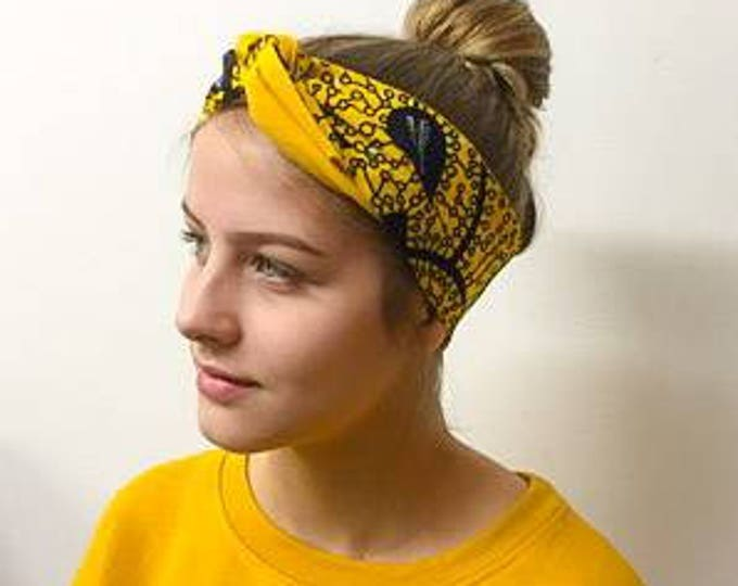 HEADBAND EDDY wax yellow