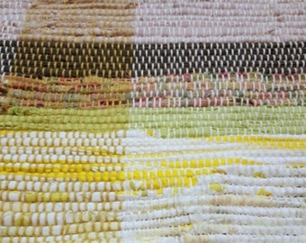Spring at the Cottage Handwoven Rag Rug