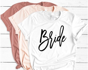 Bride Tshirt, I Said Yes, Wifey Shirt, Just Married Shirts, Gift for Wife, Engagement Gift, Honeymoon Gift, Bride, Shirt, Wifey, honeymoon