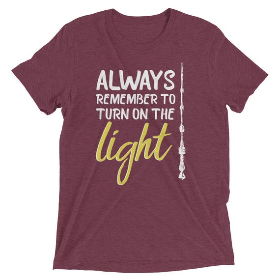 a7029f948 Harry Potter Inspired T-Shirt Albus Dumbledore Quote: | Etsy