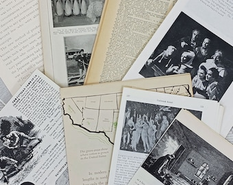 Vintage Book Pages Variety Pack
