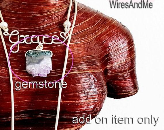 Add on item gemstone