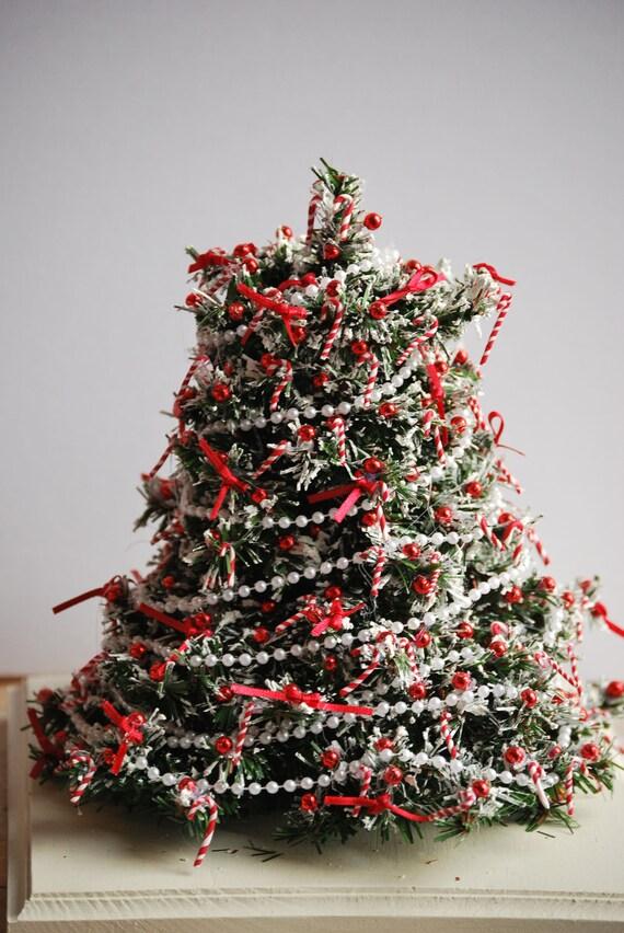 Escala 1:12 12 Árbol De Navidad Decoración Casa De Muñecas Navidad Accesorio Baubles