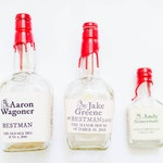 Completely Custom Liquor Label - Maker's Mark Bottle