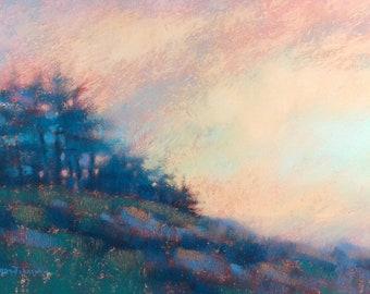 Art. Maine Art. Pemaquid , Maine. Maine painting. Original art. Seascape painting. Original painting. Pastel painting. Enjoy gifts of Maine!