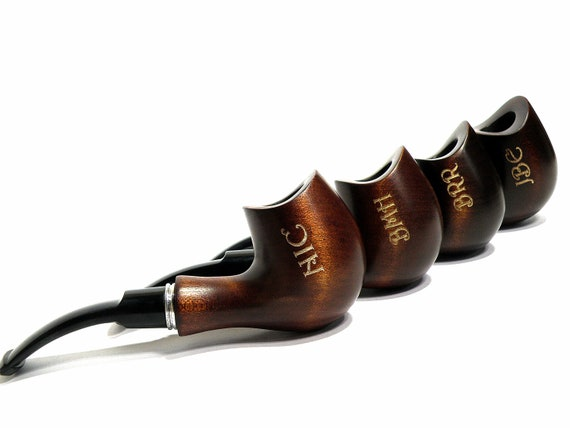 Ten Smoking Pipe Wedding Gifts Personalized Gifts Best Man Etsy