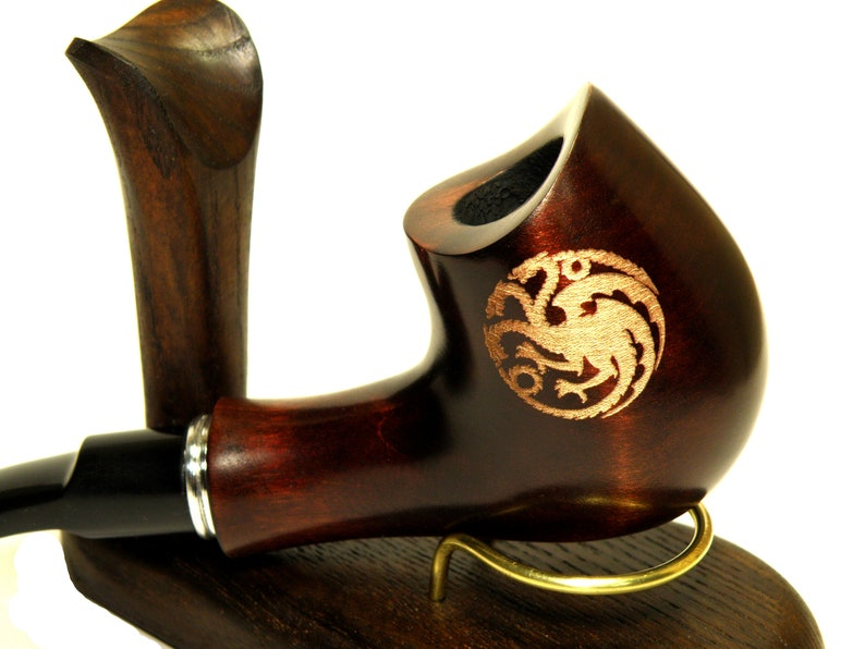 Smoking tobacco pipe Game of Thrones Tobacco Pipe Winter is Coming Hand Carved Pipe Gift for smoker Pipefor Smoker Personalized Gift