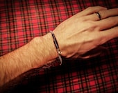 New Vintage Guitar Bass String Bracelet from vintage Martin Guitar Bass Strings