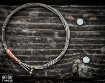 Recycled Guitar String Bracelet UNISEX
