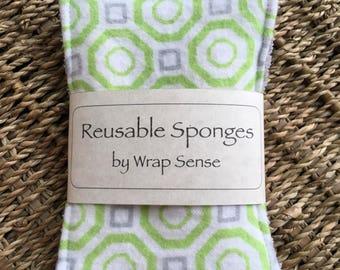 Reusable sponge, unsponge, reusable, ecofriendly sponge, kitchen sponge, washable sponge, natural cleaning