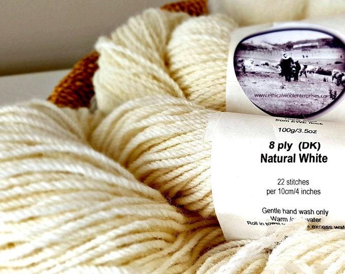 Ethical wool yarn