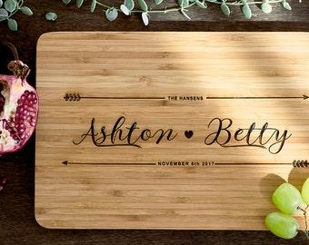 Personalized Cutting Board Personalized Custom Cutting Board Wedding Gift Cutting Board Engraved Cutting Board Anniversary Cutting Board #21