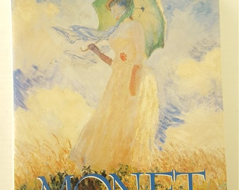 Monet By Sandro Sproccati 1st Addition 1992 Mallard Press For Collectable, Research, Gift, Art, DIY,