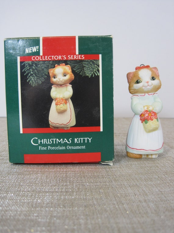 Christmas Kitty 1989