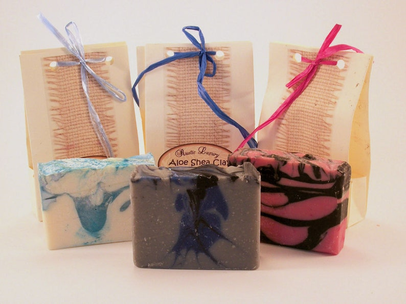 Variety 3 Pack of Hand Crafted Soaps image 0