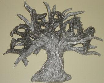 Inspirational Dream Tree Wall Sculpture