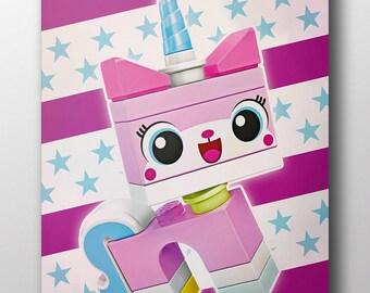Lego Movie - Unikitty (poster)