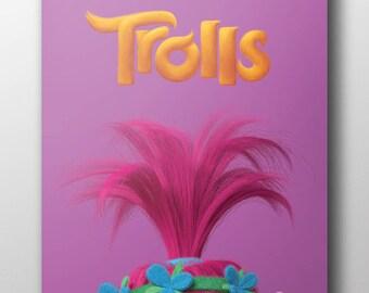 Trolls - Poppy Poster