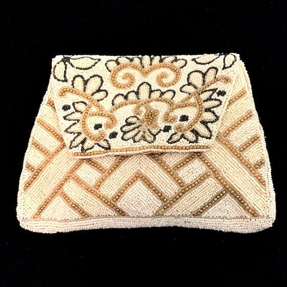 1920s Deco Beaded Handbag