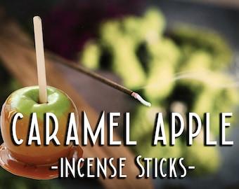 CARAMEL APPLE Incense Sticks - Autumn Incense - Halloween Incense