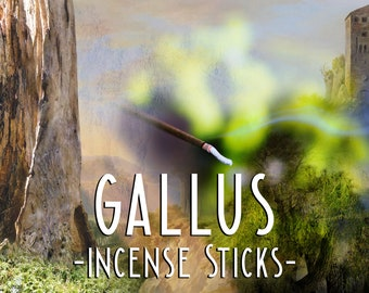 GALLUS - Incense Sticks - Whiskey Barrel - Forest Incense - Fresh Timbers - Outdoorsman Gifts - Boyfriend Gift - Uisge Beatha