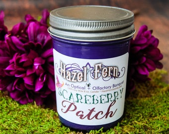Berry Soy Candle - Autumn Candle - Halloween Soy Candle - Halloween Berry Candle - Vegan Soy Candle - Fall Home Decor - Scareberry Patch
