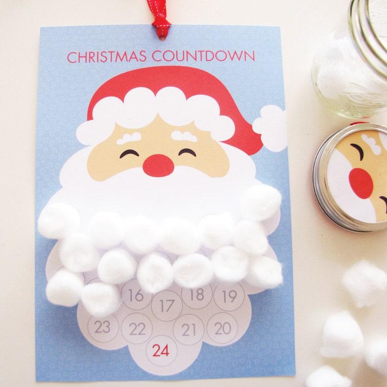 Christmas Calendar   Santa Countdown  Xmas countdown  image 0