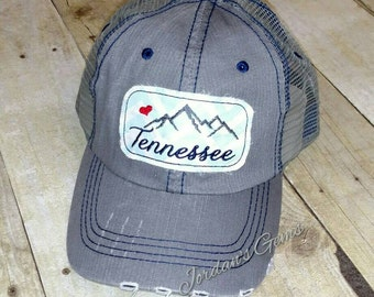 Tennessee Smoky Mountains Trucker Hat